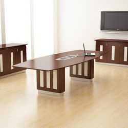 Palermo Dark Boardroom Table